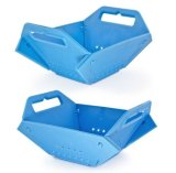 OEM Design Blue Plastic Fruit Basket