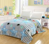 Flannel Fleece Blanket Custom Cheap Soft Polyester Fleece Blanket