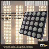 RGB Tri-Color LED 25X30W COB LED Matrix Blinder Light
