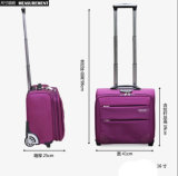 Rose Color Trolley Bag Traveling Business Bag for Ladies (ST6237B)