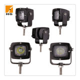 2′′ 10W CREE Chip Ce Rectangle Approved LED Trucks Work Light for Bike Car Motorcycle