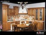 2015 [ Welbom ] L-Shape Maple Wood Customized Kitchen