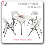 Hotel Plastic Outdoor Garden White Foldable Chair (FC-03)