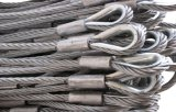 304 Stainless Steel Wire Rope Sling, Different Diameter and Length