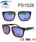 2017 High Quality Fashion Style Frame Plastic Sunglasses (PS1528)