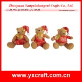 Christmas Decoration (ZY14Y255-1-2-3) Christmas Soft Inflatable Stuffed Decorative Bear Toy