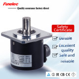 Outer Size 58mm NPN Output 1024 Incremental Rotary Encoder