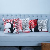 Digital Print Decorative Cushion/Pillow with Botanical&Floral Pattern (MX-34)