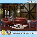 Quality PU Leather Modern Conference Living Room Chairs with Medium Back