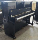 Upright Piano, Black Polish Upright Piano (HU-121E)