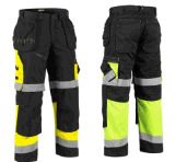 Men′s Enhanced Visibility Dura-Kap Industrial Pants