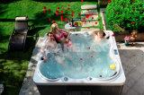 European-Style Square Pedestal Outdoor SPA Bath