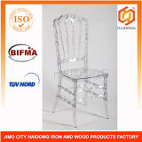 Clear Resin Stackable Wedding Event Royal Chair