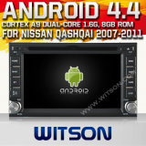 Witson Android 4.4 System Car DVD for Nissan Qashqai (W2-A9900N)