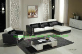 Living Room Furniture, European Home Leather Sofa Yo-832#