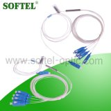 FTTH PLC 1X4 Splitter with SC/PC Connector