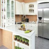 2016 Welbom Best Selling White & Green Idyllic Scenery Kitchen Cabinets