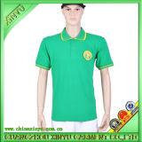 2016 Green Color High Quality Custom Made Fashion Polo Shirt