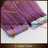Wholesale European Remy Fashion Color Tape in Extensions