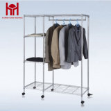 Light Duty Adjustable Clothes Hanger Stand