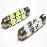 36mm 5050 SMD White 6 LED 12V C5w LED Festoon