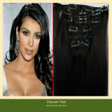 Clip in Indian Hair Extensions for Black Women (C-04)
