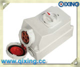 IP67 63A Industrial Waterproof Interlocked Receptacle Switch