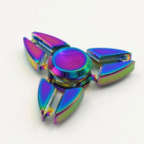 Triple Arms Crab Anodized Metal Fidget Hand Finger Spinner Toy