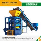 Semi Automatic Concrete Block Making Machine (QT4-24)