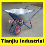 Galvanized Wheelbarrow Wb6438 with Air Wheel