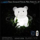 LED Bear Table Lamp Animal Reading Lamp with Rotational Molding
