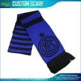 Custom Pattern Knit Acrylic Football Jacquard Scarves (J-NF19F10022)