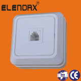 High Quality Switch China Manufacturer/ European Style Surface Mounted Phone Numeric Socket (S1007)