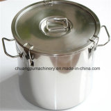 170L Cylindrical Milk Can Stainless Steel Milk Drum