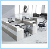 2017 New Design Modern Four-Seat MFC Office Desk Workstations
