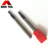 Tialn Coated Tungsten Carbide Long Ball Nose End Cutter