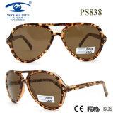 Retro Fashion Double Bridge Frame Cp Plastic Sunglasses