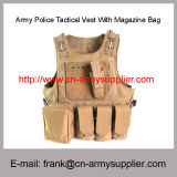 Wholesale Cheap China Army Police Tactical Vest with Magazine Bag
