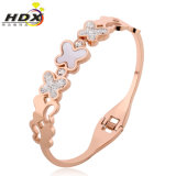 New Fashion Jewelry Butterfly Shaped Bracelet Stainless Steel Bangle (hdx1062)