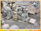 Stone Hand Carved Cartoon Frog Prince Carvings