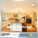 G383 Granite Kitchen Countertop with Polished Surface in Eased Edge Treatment