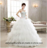 Fashion Wedding Dress Sexy High Quality Feather Dress