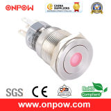 Onpow 19mm Push Button Switch (LAS1-AGQPF-11D/G/12V/S, CE, UL, CCC, RoHS)