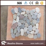 Nature Honed River Pebble Stone Mosaic for Outdoor Decoration