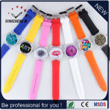 New Style Japan Quartz Silicon Print Dial Face Watches OEM/ODM Watch