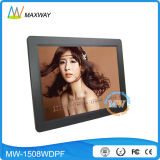 15 Inch Digital Photo Frame with MP3 MP4 Music Picture Video