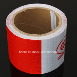 3m White/Red Reflective Safety Warning Conspicuity Tape with Production Label