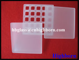 Fire Polish Deep Process Laser Grooving Fused Quartz Glass Sheet