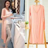 Womens Casual Long Sleeve Knitwear Sweater Long Wraps Outwear (50193)