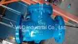 API600 Carbon Steel Wcb Swing Check Valve with Flanged RF End